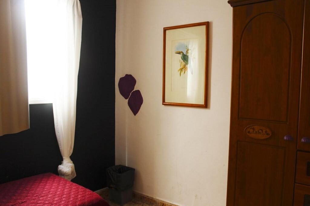 Habitación individual interior (baño común)