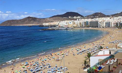 Playa Las Canteras a 1.6 km